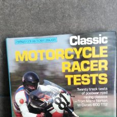 Coches y Motocicletas: CLASSIC MOTORCYCLE RACER TESTS. ALAN CATCHCART. OSPREY COLLECTORS LIBRARY 1984. . Lote 192449740