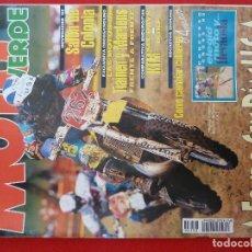Coches y Motocicletas: MOTO VERDE-NUMERO 196·NOVIEMBRE 1994-REVISTA DE MOTOCICLISMO. Lote 192451922