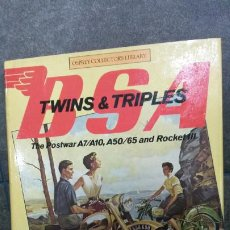 Coches y Motocicletas: BSA TWINS & TRIPLES. THE POSTWAR A7/A10, A50/65 AND ROCKET III. ROY BACON, BOB CURRIE. . Lote 192532452