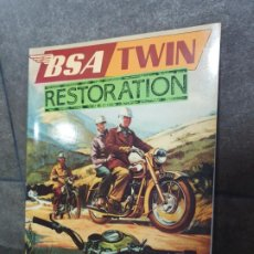 Coches y Motocicletas: BSA TWIN RESTORATION. ROY BACON. OSPREY 1986. . Lote 192771897
