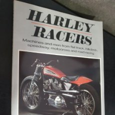 Coches y Motocicletas: ALLAN GIRDLER. HARLEY RACERS: MACHINES AND MEN FROM FLAT TRACK, HILLCLIMB, SPEEDWAY, MOTOCROSS AND R. Lote 192786610