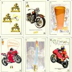 Coches y Motocicletas: BARAJA ESPAÑOLA MOTORISTA. Lote 193077156