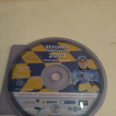 Coches y Motocicletas: 2002 FERNANDO ALONSO RESUMEN TEMPORADA 2002 PRINCIPADO DE ASTURIAS. Lote 194122936