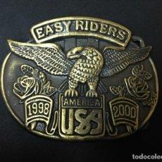 Coches y Motocicletas: HEBILLA USA . Lote 194196593