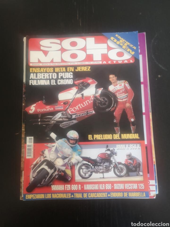 Coches y Motocicletas: LOTE DE CINCO REVISTAS SOLO MOTO DE LOS AÑOS 90 - Foto 2 - 194206192