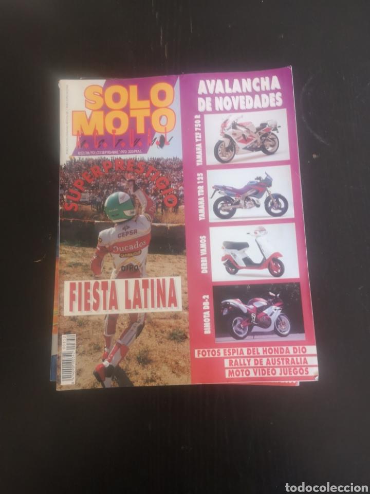 Coches y Motocicletas: LOTE DE CINCO REVISTAS SOLO MOTO DE LOS AÑOS 90 - Foto 4 - 194206192