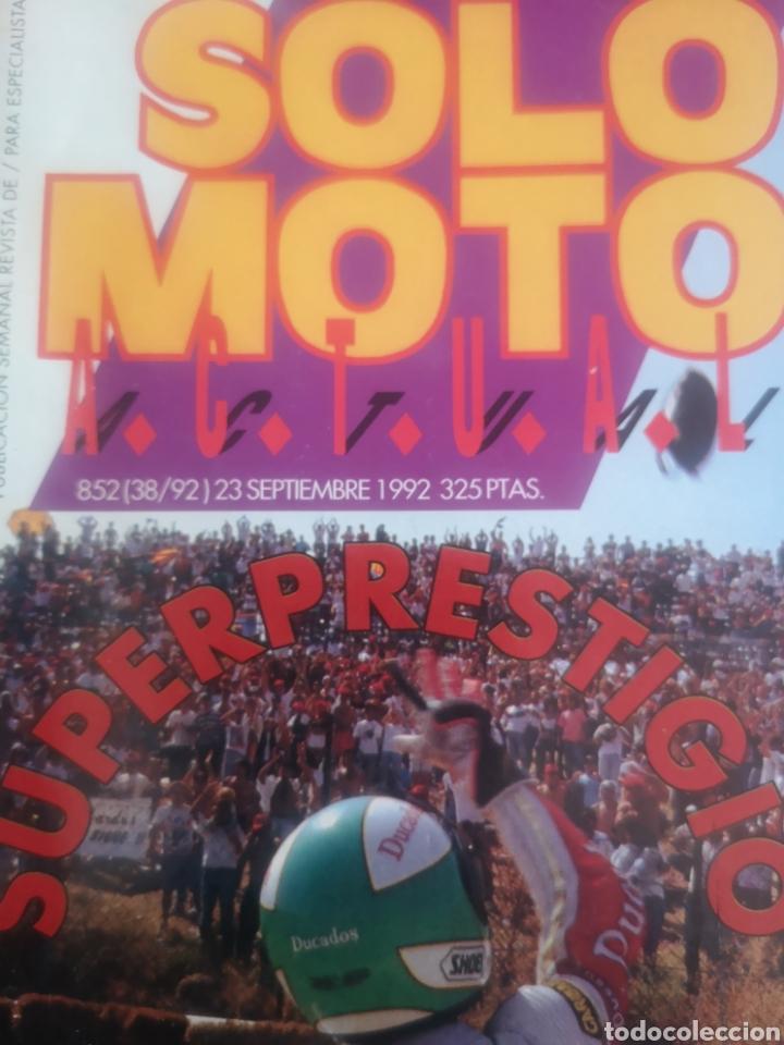 Coches y Motocicletas: LOTE DE CINCO REVISTAS SOLO MOTO DE LOS AÑOS 90 - Foto 5 - 194206192