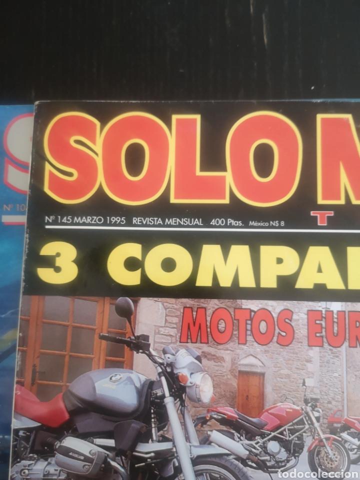 Coches y Motocicletas: LOTE DE CINCO REVISTAS SOLO MOTO DE LOS AÑOS 90 - Foto 7 - 194206192