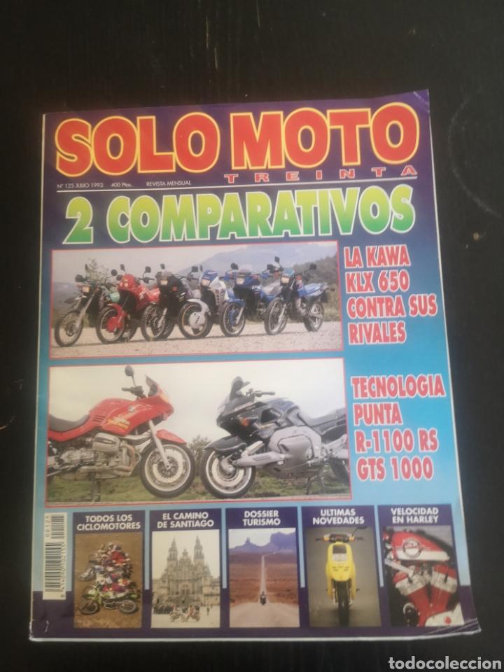 Coches y Motocicletas: LOTE DE CINCO REVISTAS SOLO MOTO DE LOS AÑOS 90 - Foto 10 - 194206192