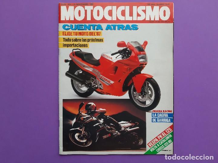 MOTOCICLISMO Nº 979 AÑO 1986 VOLTA CATALUÑA CROSS 125 IBI YAMAHA YFM 200 DX CUATRI PARA ESPAÑA (Coches y Motocicletas - Revistas de Motos y Motocicletas)
