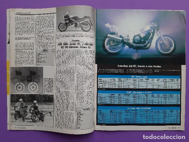 Coches y Motocicletas: MOTOCICLISMO Nº 979 AÑO 1986 VOLTA CATALUÑA CROSS 125 IBI YAMAHA YFM 200 DX CUATRI PARA ESPAÑA - Foto 3 - 194355197