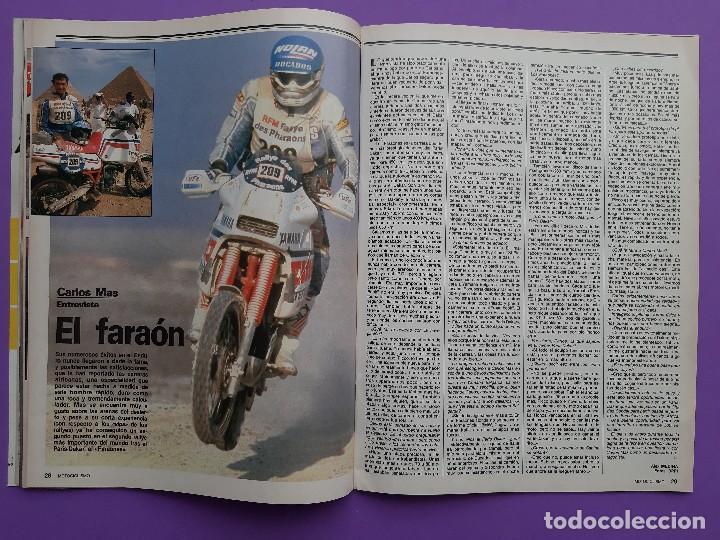 Coches y Motocicletas: MOTOCICLISMO Nº 979 AÑO 1986 VOLTA CATALUÑA CROSS 125 IBI YAMAHA YFM 200 DX CUATRI PARA ESPAÑA - Foto 6 - 194355197