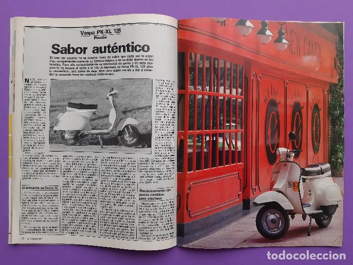 Coches y Motocicletas: MOTOCICLISMO Nº 979 AÑO 1986 VOLTA CATALUÑA CROSS 125 IBI YAMAHA YFM 200 DX CUATRI PARA ESPAÑA - Foto 7 - 194355197
