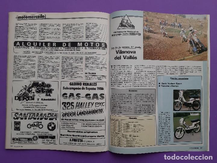Coches y Motocicletas: MOTOCICLISMO Nº 979 AÑO 1986 VOLTA CATALUÑA CROSS 125 IBI YAMAHA YFM 200 DX CUATRI PARA ESPAÑA - Foto 8 - 194355197