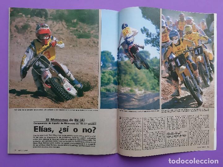Coches y Motocicletas: MOTOCICLISMO Nº 979 AÑO 1986 VOLTA CATALUÑA CROSS 125 IBI YAMAHA YFM 200 DX CUATRI PARA ESPAÑA - Foto 9 - 194355197