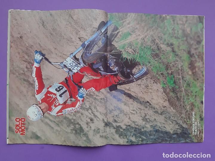 Coches y Motocicletas: SOLO MOTO Nº94 AÑO 1977 FESTIVAL BULTACO EN ESPLUGAS POSTER CENTRAL CHARLES COUTARD - Foto 2 - 194531027