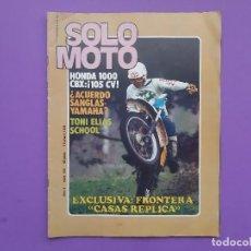 Coches y Motocicletas: SOLO MOTO Nº123 AÑO 1978 TONI ELIAS SCHOOL TROFEO MONTESA MEMORIAL ANTONIO RIERA 125C.C.. Lote 194531511