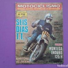 Coches y Motocicletas: MOTOCICLISMO Nº 528 AÑO1977 MONTESA ENDURO 125 H POSTER CENTRAL TONI ELIAS SALON MOTOCICLETA LONDRES. Lote 194531951