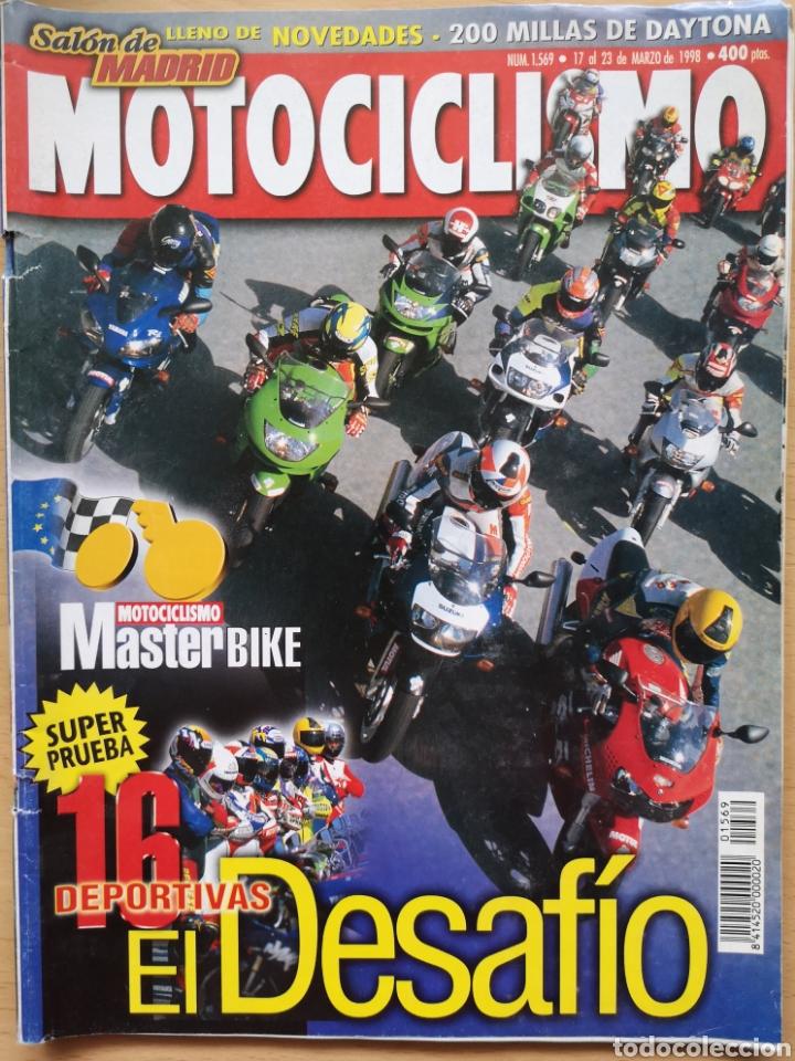 MOTOCICLISMO Nº 1569 1998 HONDA CBR 600 F - VTR 1000 F / DUCATI 916 SPS - 748 SPS / GSXR 600 (Coches y Motocicletas - Revistas de Motos y Motocicletas)