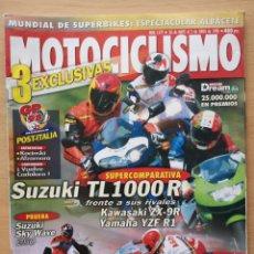 Coches y Motocicletas: REVISTA MOTOCICLISMO Nº 1579 1998. MV AGUSTA 750 F4. SUZUKI BURGMAN 250. SUZUKI TL 1000R.. Lote 194588926