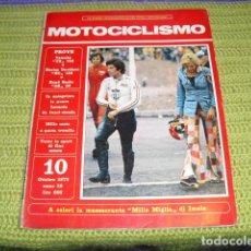 Coches y Motocicletas: MOTOCICLISMO (ITALIANO) OTTOBRE 1973 -. Lote 194623685