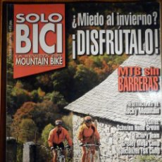 Coches y Motocicletas: SOLO BICI - LA REVISTA DEL MOUNTAIN BIKE - Nº 91 - DICIEMBRE 1998 - . Lote 194645536