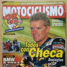 Coches y Motocicletas: MOTOCICLISMO Nº 1585 1998. BMW R 1100 S / DUCATI 916 BIPOSTO / SUZUKI TL 1000 R / PEGASO 650. Lote 194665240