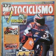 Coches y Motocicletas: MOTOCICLISMO Nº 1639 1999. HONDA ST 1100 PAN EUROPEAN - GL 1500 SE GOLD WING - VIGOR 650. Lote 194665317