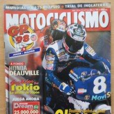 Coches y Motocicletas: MOTOCICLISMO Nº 1574 1998. HONDA 650 DEAUVILLE / GP MALASIA / TRIAL / MOTO CROSS / SUPEBIKES. Lote 194665430