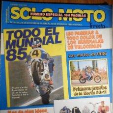 Coches y Motocicletas: SOLO MOTO TREINTA - Nº 35 DICIEMBRE 1985 ENERO 1986 - YAMAHA XS400 SUZUKI GSX400 HONDA VF 1000R. Lote 194704963
