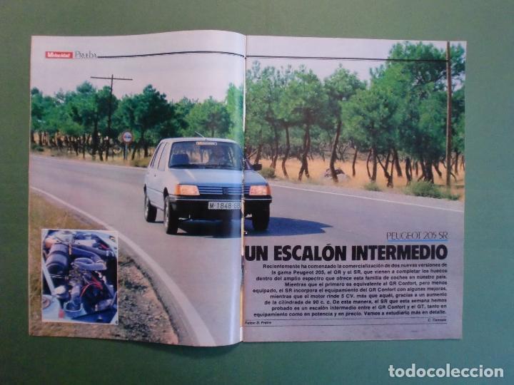 Coches y Motocicletas: VELOCIDAD Nº 1205 2/10/1984 BUGATTI - CITROËN VISA C-15 E Y D - PEUGEOT 205 SR - RENAULT 11 GTC - Foto 2 - 194727463