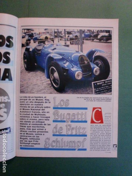 Coches y Motocicletas: VELOCIDAD Nº 1205 2/10/1984 BUGATTI - CITROËN VISA C-15 E Y D - PEUGEOT 205 SR - RENAULT 11 GTC - Foto 4 - 194727463