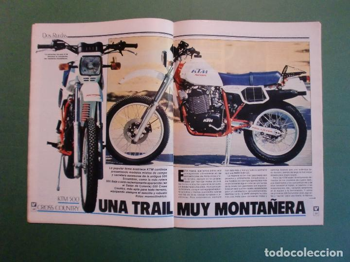 Coches y Motocicletas: VELOCIDAD Nº 1205 2/10/1984 BUGATTI - CITROËN VISA C-15 E Y D - PEUGEOT 205 SR - RENAULT 11 GTC - Foto 6 - 194727463