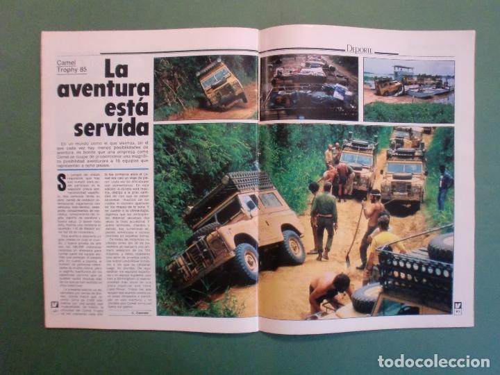 Coches y Motocicletas: VELOCIDAD Nº 1205 2/10/1984 BUGATTI - CITROËN VISA C-15 E Y D - PEUGEOT 205 SR - RENAULT 11 GTC - Foto 11 - 194727463