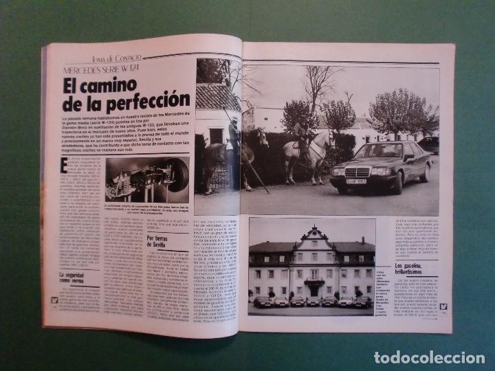 Coches y Motocicletas: VELOCIDAD Nº 1211 8/12/1984 PARIS DAKAR - OPEL KADETT - KAWASAKI GPZ 600 R - MERCEDES W 124 - Foto 3 - 194728098