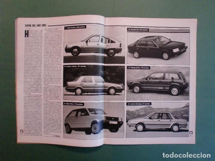 Coches y Motocicletas: VELOCIDAD Nº 1211 8/12/1984 PARIS DAKAR - OPEL KADETT - KAWASAKI GPZ 600 R - MERCEDES W 124 - Foto 4 - 194728098