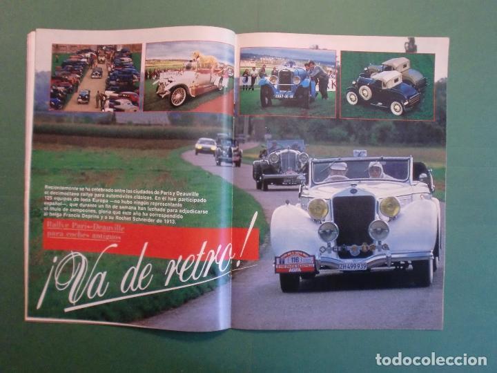 Coches y Motocicletas: VELOCIDAD Nº 1211 8/12/1984 PARIS DAKAR - OPEL KADETT - KAWASAKI GPZ 600 R - MERCEDES W 124 - Foto 7 - 194728098