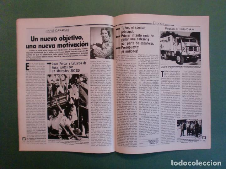 Coches y Motocicletas: VELOCIDAD Nº 1211 8/12/1984 PARIS DAKAR - OPEL KADETT - KAWASAKI GPZ 600 R - MERCEDES W 124 - Foto 12 - 194728098