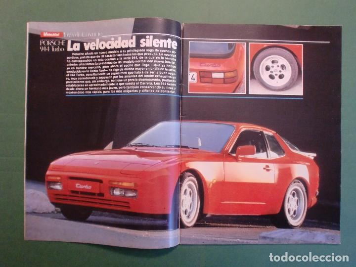 Coches y Motocicletas: VELOCIDAD Nº 1221 16/2/1985 PORSCHE 944 TURBO - RENAULT 11 GTX Y TXE - ROVER VITESSE - GUZZI 850 TS - Foto 2 - 194748146