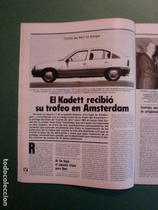 Coches y Motocicletas: VELOCIDAD Nº 1221 16/2/1985 PORSCHE 944 TURBO - RENAULT 11 GTX Y TXE - ROVER VITESSE - GUZZI 850 TS - Foto 5 - 194748146