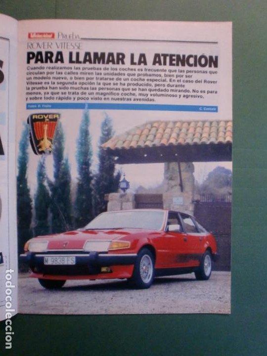 Coches y Motocicletas: VELOCIDAD Nº 1221 16/2/1985 PORSCHE 944 TURBO - RENAULT 11 GTX Y TXE - ROVER VITESSE - GUZZI 850 TS - Foto 6 - 194748146