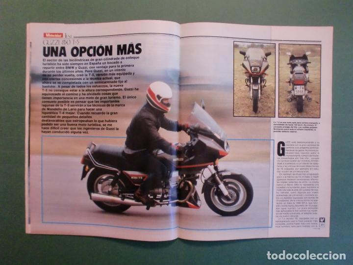 Coches y Motocicletas: VELOCIDAD Nº 1221 16/2/1985 PORSCHE 944 TURBO - RENAULT 11 GTX Y TXE - ROVER VITESSE - GUZZI 850 TS - Foto 7 - 194748146