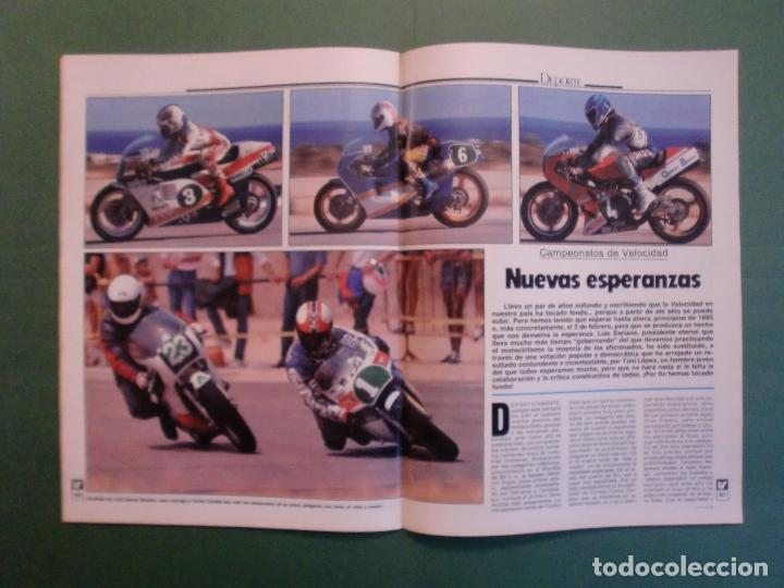 Coches y Motocicletas: VELOCIDAD Nº 1221 16/2/1985 PORSCHE 944 TURBO - RENAULT 11 GTX Y TXE - ROVER VITESSE - GUZZI 850 TS - Foto 12 - 194748146