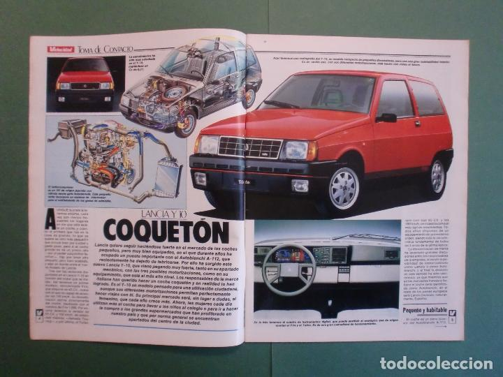 Coches y Motocicletas: VELOCIDAD Nº 1225 16/3/1985 LANCIA Y-10 - PORSCHE 944 - VW GOLF GT - FORD SIERRA RS - SALON GINEBRA - Foto 2 - 194748825