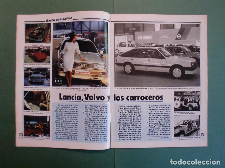 Coches y Motocicletas: VELOCIDAD Nº 1225 16/3/1985 LANCIA Y-10 - PORSCHE 944 - VW GOLF GT - FORD SIERRA RS - SALON GINEBRA - Foto 3 - 194748825