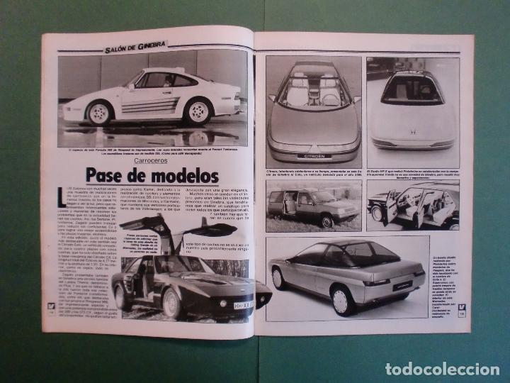 Coches y Motocicletas: VELOCIDAD Nº 1225 16/3/1985 LANCIA Y-10 - PORSCHE 944 - VW GOLF GT - FORD SIERRA RS - SALON GINEBRA - Foto 4 - 194748825