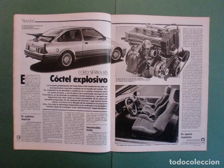 Coches y Motocicletas: VELOCIDAD Nº 1225 16/3/1985 LANCIA Y-10 - PORSCHE 944 - VW GOLF GT - FORD SIERRA RS - SALON GINEBRA - Foto 6 - 194748825