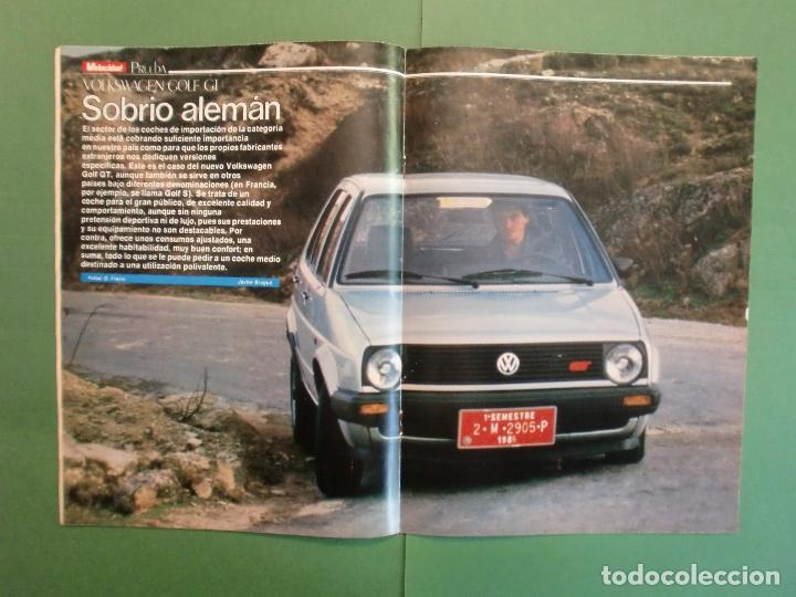 Coches y Motocicletas: VELOCIDAD Nº 1225 16/3/1985 LANCIA Y-10 - PORSCHE 944 - VW GOLF GT - FORD SIERRA RS - SALON GINEBRA - Foto 7 - 194748825