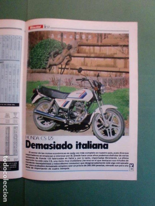Coches y Motocicletas: VELOCIDAD Nº 1225 16/3/1985 LANCIA Y-10 - PORSCHE 944 - VW GOLF GT - FORD SIERRA RS - SALON GINEBRA - Foto 8 - 194748825