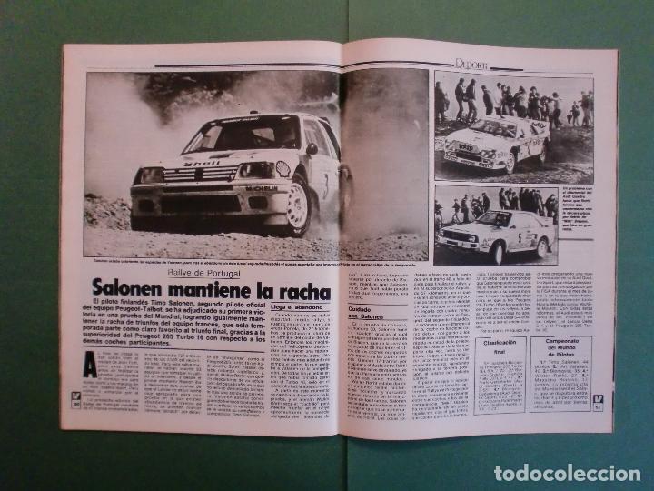 Coches y Motocicletas: VELOCIDAD Nº 1225 16/3/1985 LANCIA Y-10 - PORSCHE 944 - VW GOLF GT - FORD SIERRA RS - SALON GINEBRA - Foto 9 - 194748825